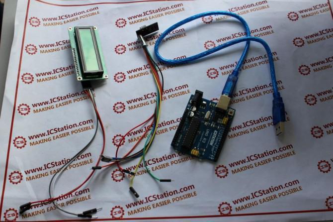 NRF24L01 Wireless Keyboard Datenübertragungssystem auf Basis von Arduino