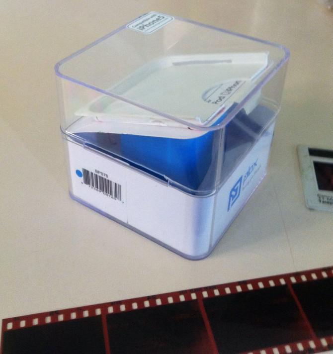 Homemade Smartphone Film Scanner