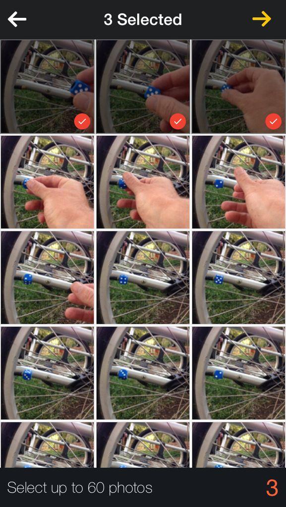 Erstellen Sie ein animiertes GIF mit einem iPhone