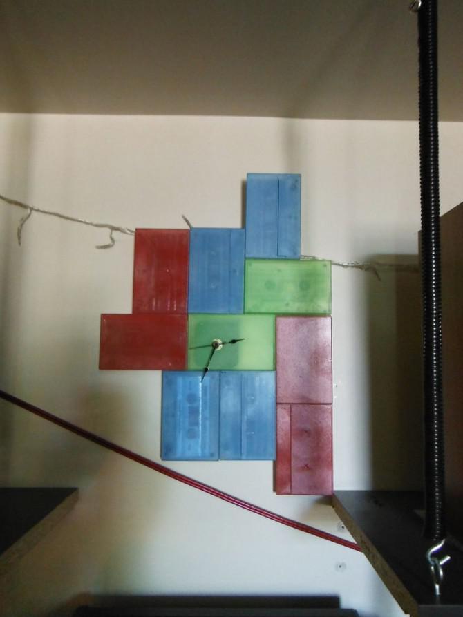 Machen Sie eine Tetris Uhr von Kassetten!