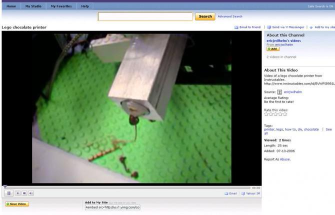 Wie man ein Video in Instructables einbetten