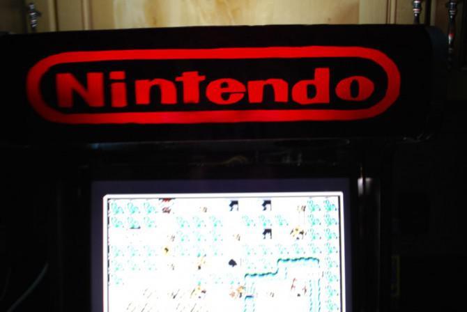 Das Original NES bartop Arcade