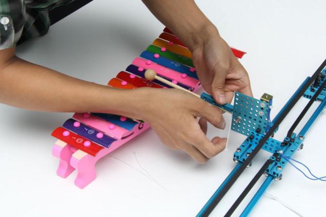 Wie man ein Makeblock Musik-Roboter mit der Musik Robot Kit Stellen (NEW)