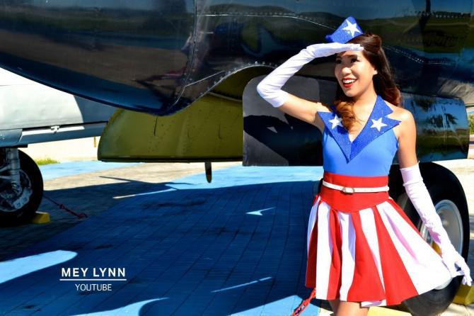 DIY Captain America USO Mädchen Kostüm- Kein Nähen!