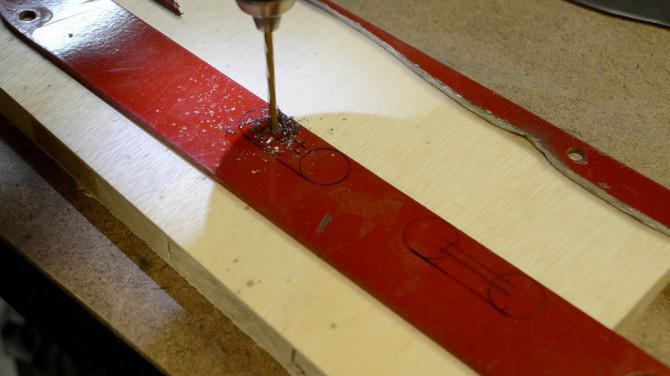 Machen Sie eine Bowie Knife Von Tischkreissäge Insert