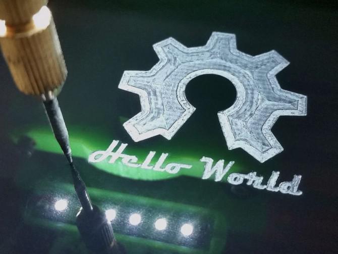 3D-gedruckten CNC-Fräse