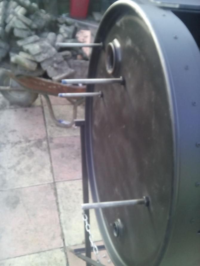 Drum BBQ-Raucher, kein Schweißen