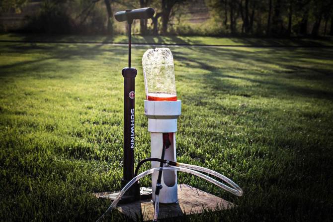Wasserraketenprojekt