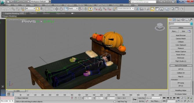 Wie man ein 3D-Jack O 'Lantern zu machen