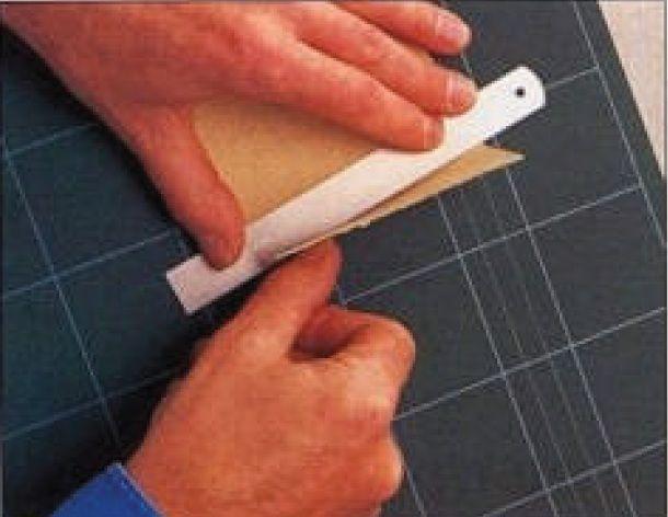 Wie man ein Papiermodelle machen: Papiermodelle Grundtechniken