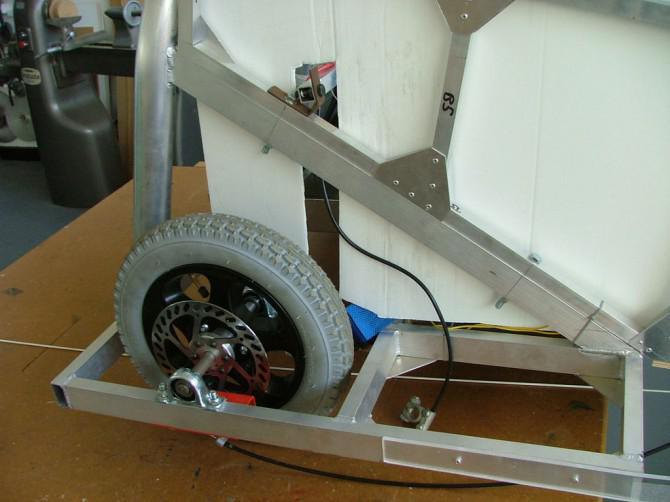 Der Aufbau eines elektrischen Rennwagen