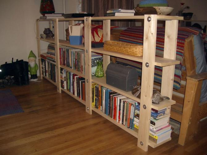 diy b cherregal. Black Bedroom Furniture Sets. Home Design Ideas