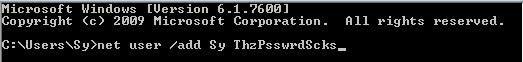 Wie Sie cmd verwenden, um zu hacken (Grundcodes)