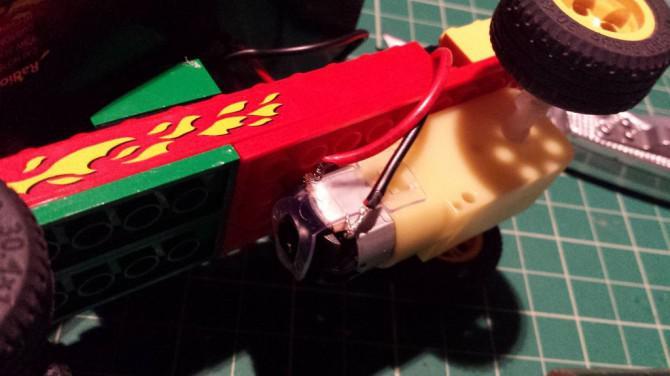 Mini Spielzeugsolarauto-