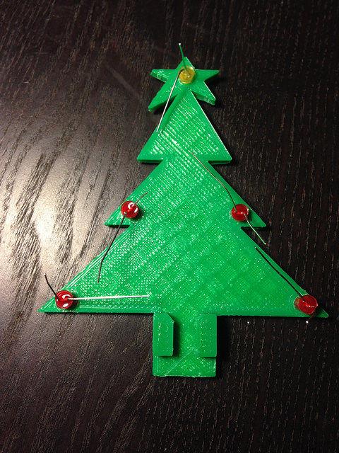 Weihnachtsbaum 3d druck