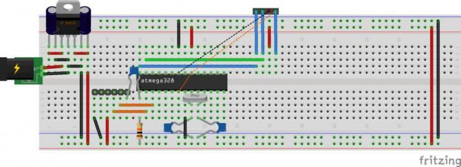Arduino Uno I2C Master-