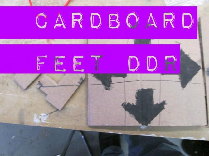 Karton Feet DDR