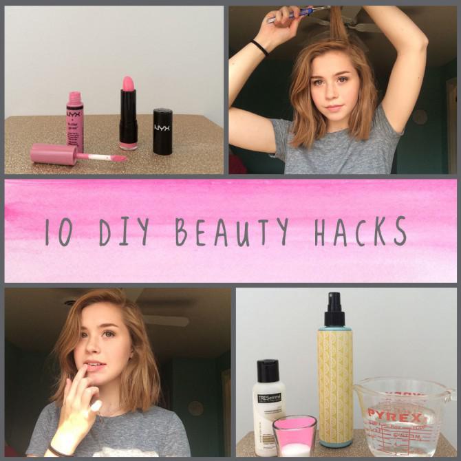 10 DIY Beauty Hacks