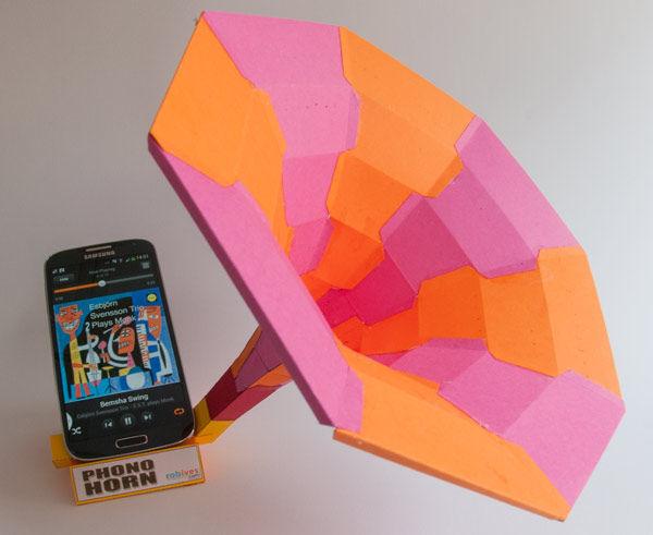 Phono Horn.  Free Sound Dock für Ihr Smartphone herunterladen und.