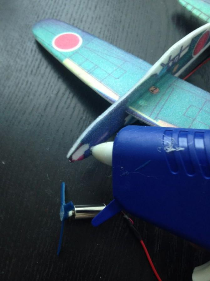 Einfache elektrisch betriebene Glider