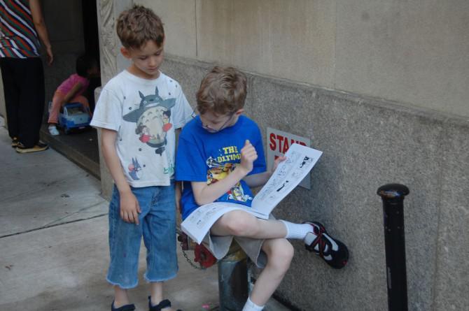 Wie Sie Ihre Kinder in die Bücherwürmer schalten