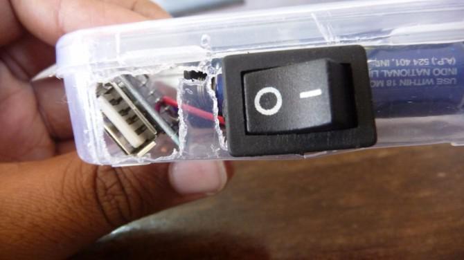 DIY Tragbare Solar USB-Ladegerät