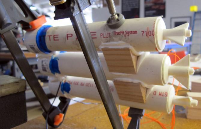 Bauen Sie ein Akkupack mit PVC-Rohre
