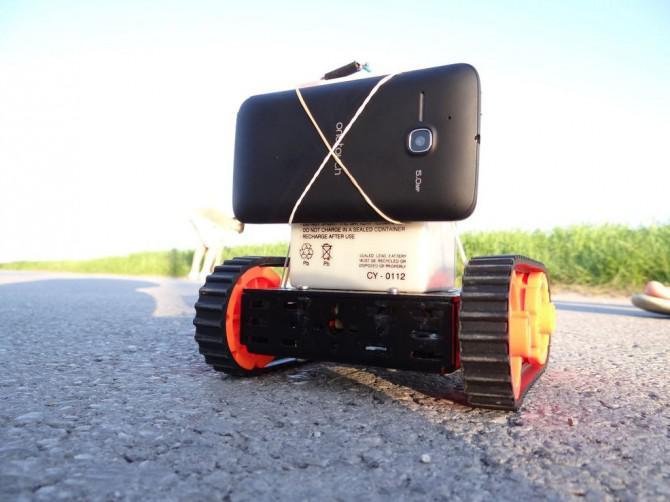 Objektverfolgung Roboter