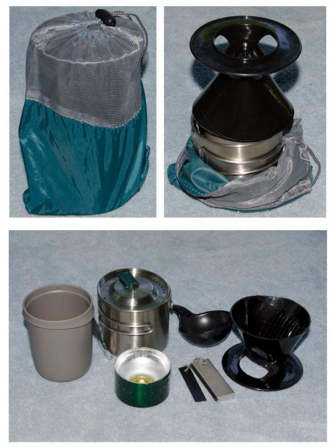 Mobile Coffee Kit