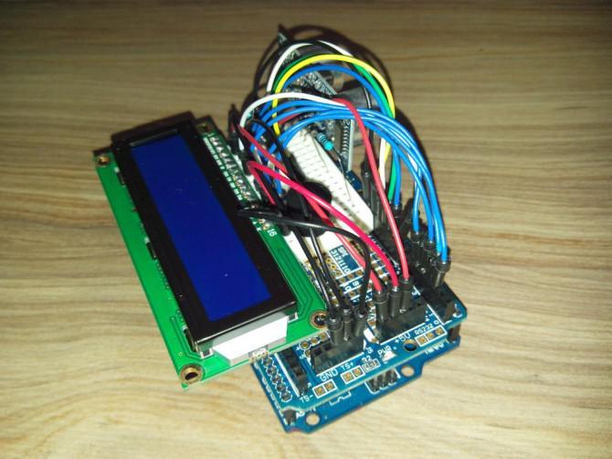 Animated Sonic Ruler / Parken-Sensor mit Arduino ~ weniger als 10 Dollar!