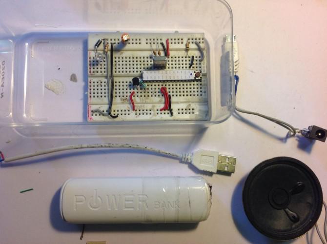 DIY aufladbare elektronische MoskitoRepeller