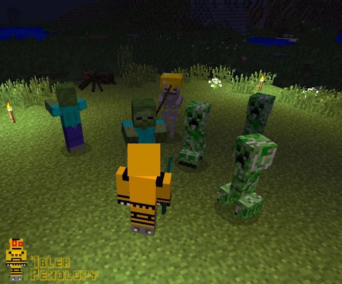 Kampf Gegen Monster In Minecraft - Minecraft spieler nach hause teleportieren