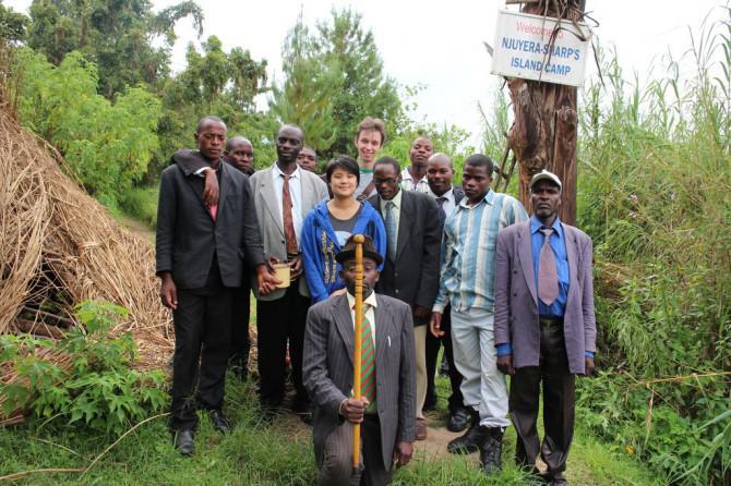 Die Aufrechterhaltung eines kleinen 3D-Druck-Anlage in Uganda