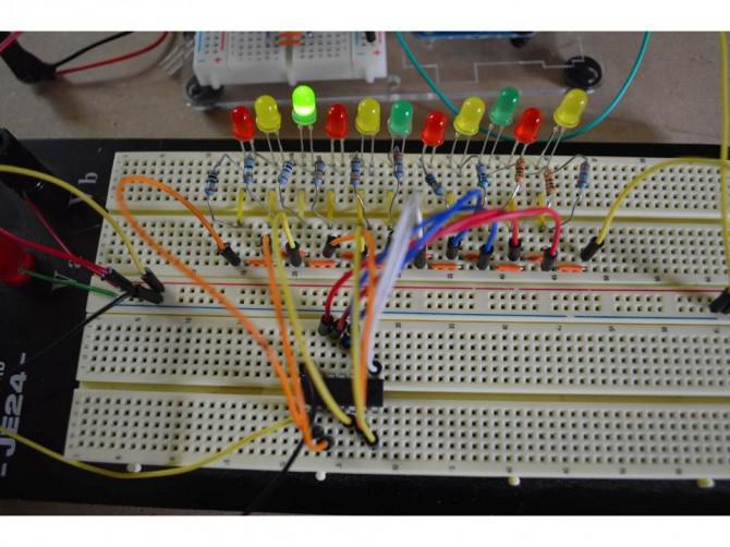 Unter Verwendung der Arduino Uno zu ATTINY84-20PU programmieren