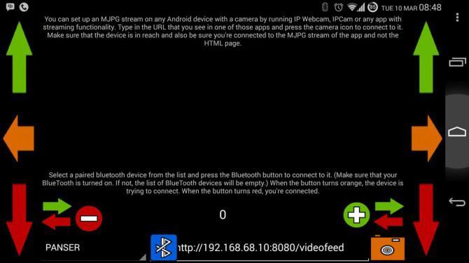 Android Kontrollierte Arduino Bluetooth Panzer