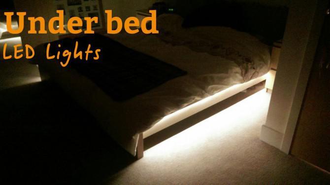 Unter Bett Led Leuchten