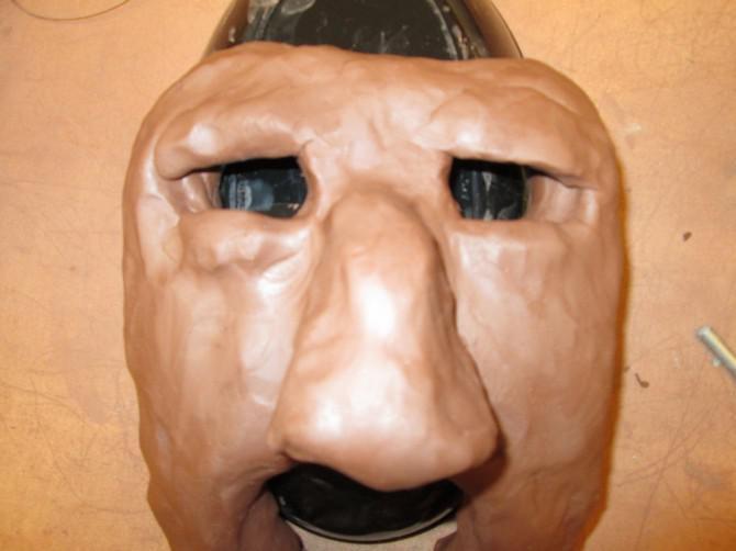 Zwei Ton-Ton-Maske