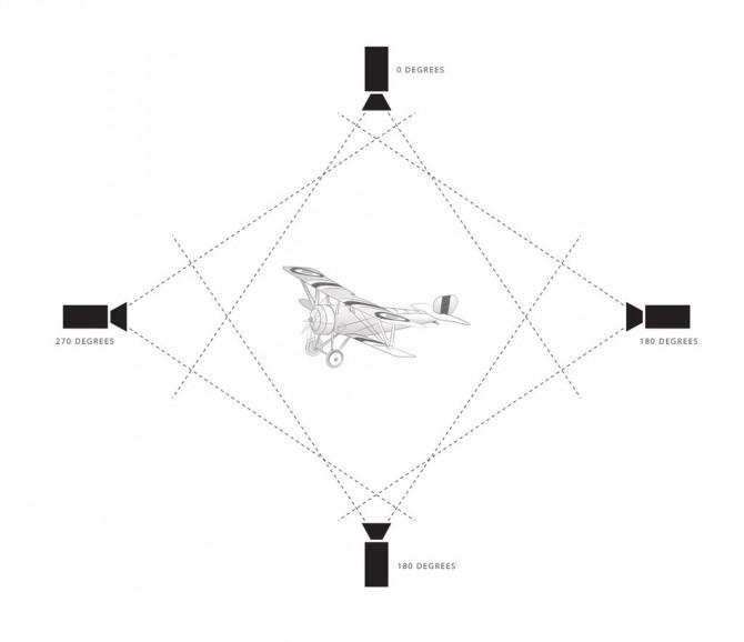 Reflektierende Prism