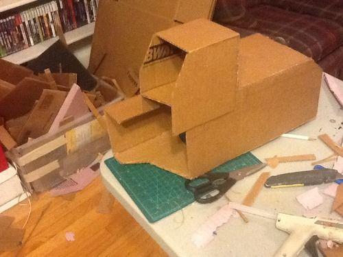 """""""Devastator"""" Kostüm: Wie man einen Constructicons machen"""