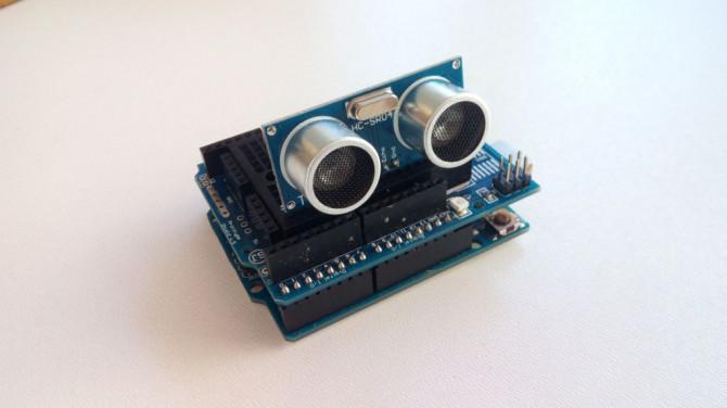 Arduino Tutorial - Wie Sie das HC-SR04 Ultraschallsensor verwenden
