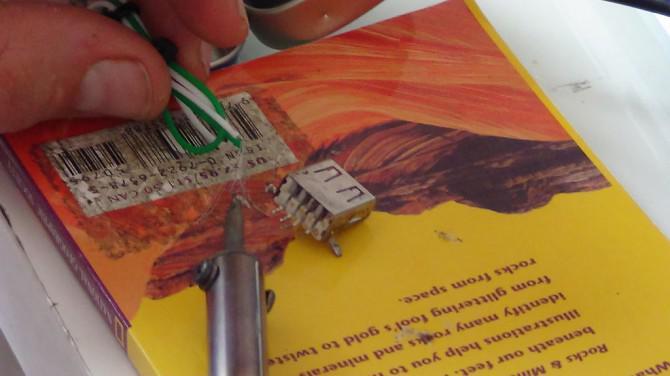 Altoids Smalls Solar-USB-Ladegerät