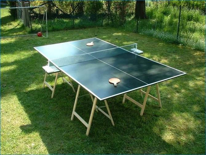 Wie Man Eine Tischtennisplatte Bauen