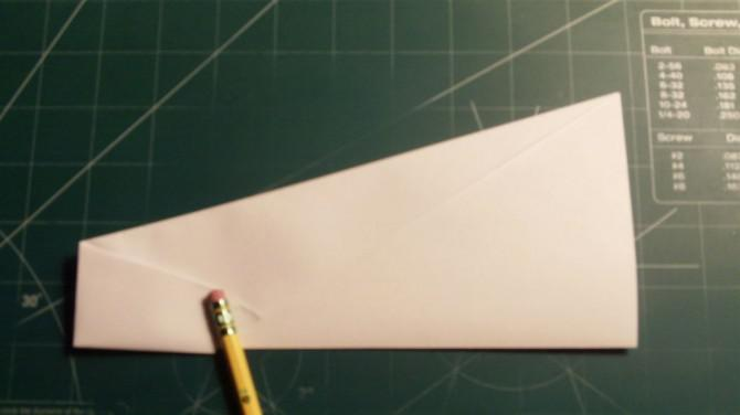 How To Make The Eaglet Paper Airplane