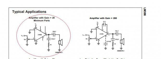 Audioverstärker und Envelope Follower für Animatronics
