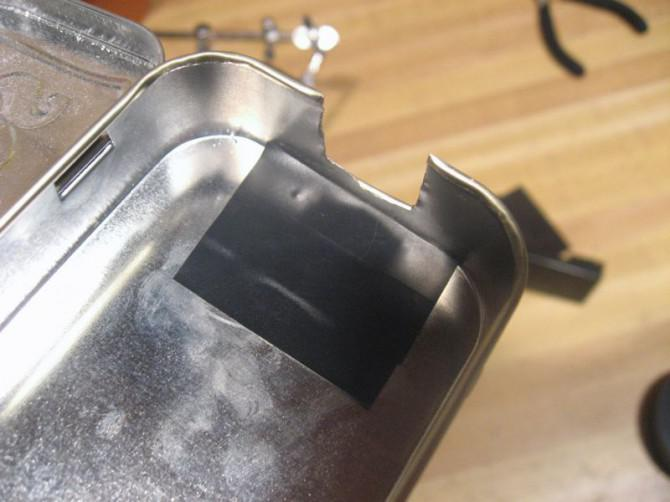 DIY Solar-USB-Ladegerät - Altoids