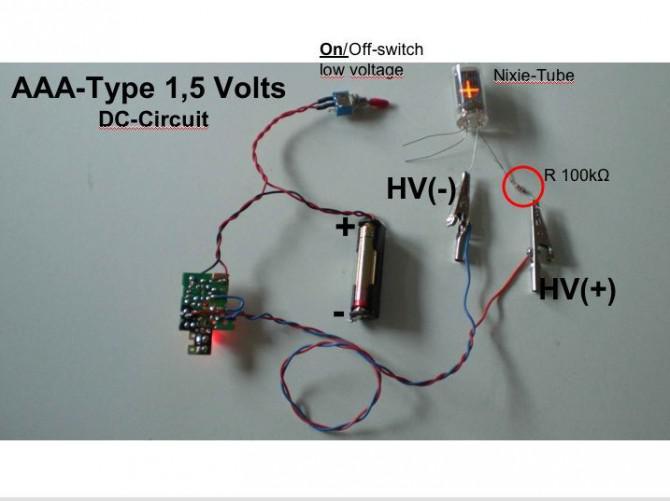 Hochspannungsversorgung für Nixies, CFL, Neon-Glow-Birnen usw. für meine steampunk Objekte