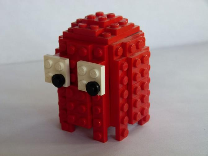 3D Pacman Geister