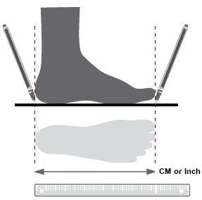 Wie man perfekte Sport-Schuh-Größe finden