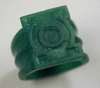 Wie man eine Green Lantern Ring- machen, die eine glühende Version!