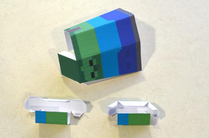 Umzug Minecraft Charaktere